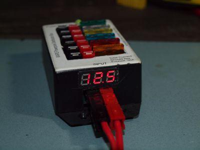 Powerpole Volmeter Assembled