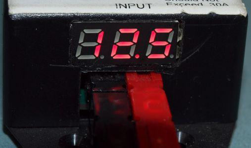 Powerpole Voltmeter assembled closeup