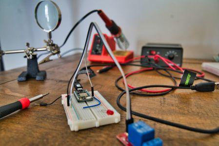 Photo-solder