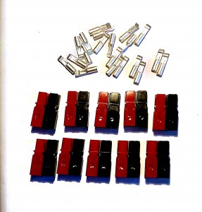 Connectors-Anderson Powerpole-Red/Black 30Amps